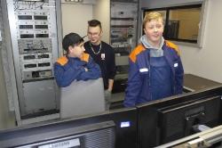 Kinder besuchen FTZ