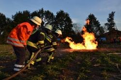 400 Feuerwehrleute proben Ernstfall
